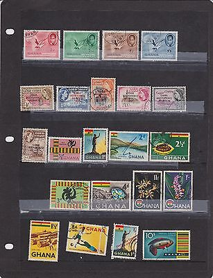 Ghana - selection of 34 different