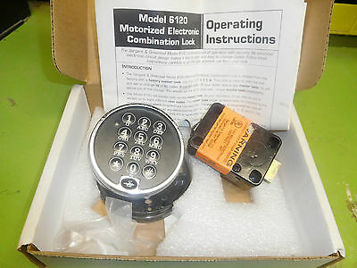 S&G 2160 Safe Lock. Don't have master code. Of of working safe. Parts or repair.