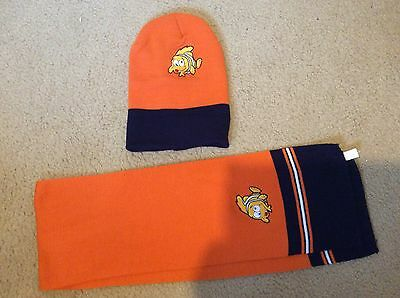 BNWOT Boys Nemo Hat and Scarf - Never Worn