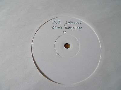 DUB SYNDICATE Stoned Immaculate LP ON-U LP56 WHITE LABEL PROMO Adrian Sherwood