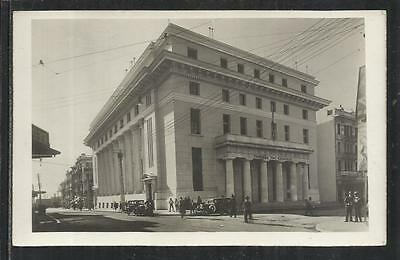 GREECE:1930's SALONICA, A CARD OF THE  BANK OF GREECE BULDING.