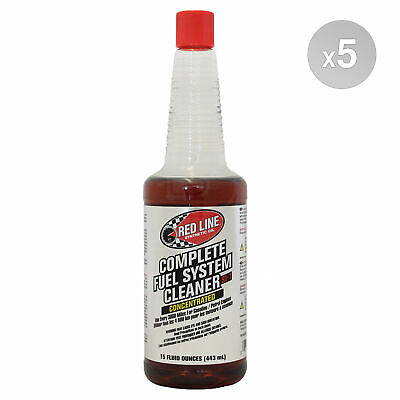 RED LINE SI-1 Fuel System Cleaner 5 x 443ml Bottle (2.215L)