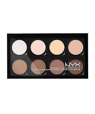 NYX PROFESSIONAL MAKEUP Highlight & Contour Pro Palette Powder New Genuine