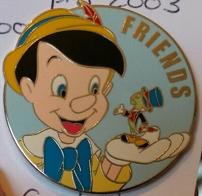 disney Pinocchio Jiminy surprise release friends series pin le 1000 from 2003