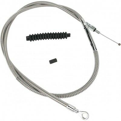 Clutch cable stainless steel oversize +3(76mm) - 102-30-10... - Barnett 06520483