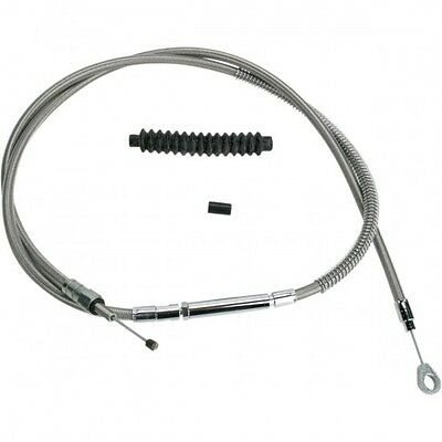 Clutch cable stainless steel oversize +6(152mm) - 102-30-1... - Barnett 06520543