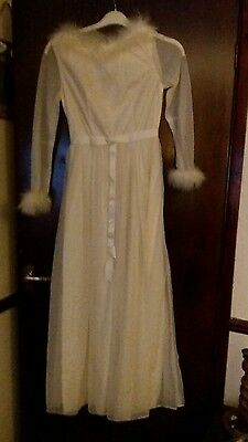 Retro  Vintage beautiful 1960s Long Dress size 12 ..