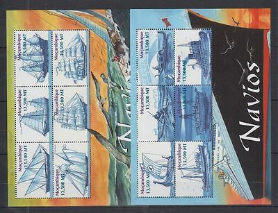 R77. Mozambique - MNH - Transport - Ships