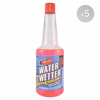 RED LINE Water Wetter Special SUPER Coolant 5 x 355ml Bottle (1.775L)