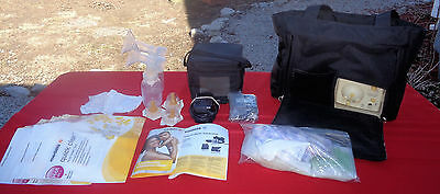 Medela Pump In Style Advanced Double Breast Pump On The Go Tote EC #2 EXTRAS