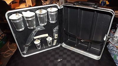 Vintage Platt Portable Travel Bar With Key - Complete In Excellent Condition