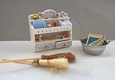 Dollhouse Job Lot | 1/12 scale | bathroom accessories