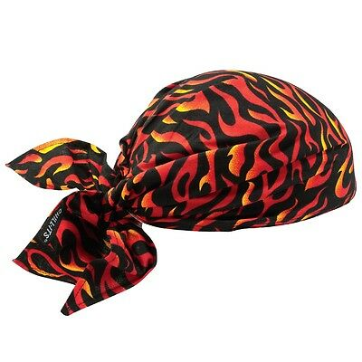 Chill-Its 6710 Evaporative Cooling Triangle Hat Flames