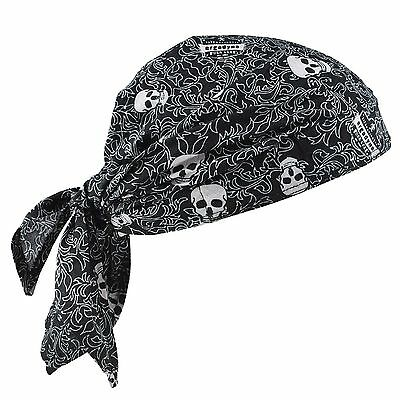 Chill-Its 6710 Evaporative Cooling Triangle Hat Skulls