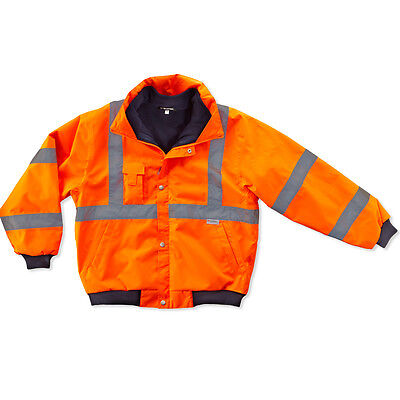 GLoWEAR 8380 Type R Class 3 Bomber Jacket Orange 2XL
