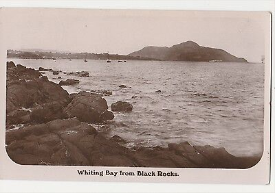 Whiting Bay From Black Rock. Isle Of Arran.
