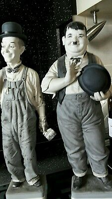 ALGORA Laurel and Hardy VINTAGE MINT CONDITION with COA