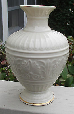 "CLEARANCE Lenox China Athenian Collection 8"" Vase 24 kt Gold Trim  USA"