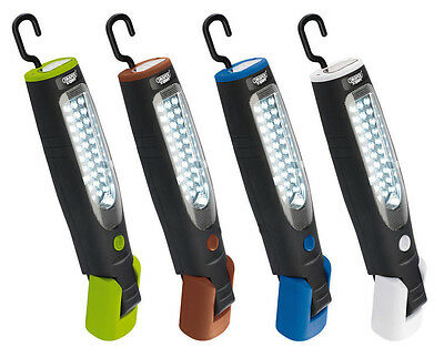 Draper Expert Cordless 37 LED Rechargeable Magnetic Inspection Lamp Light Torch