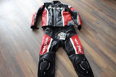 Richa two piece motorcycle leathers new with tickets mens