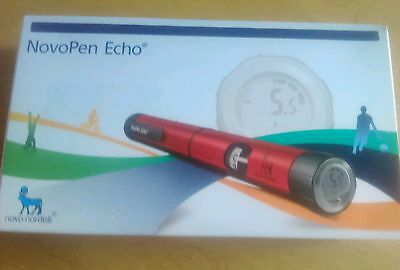 Red Novopen Echo,  Diabetes insulin injection pen