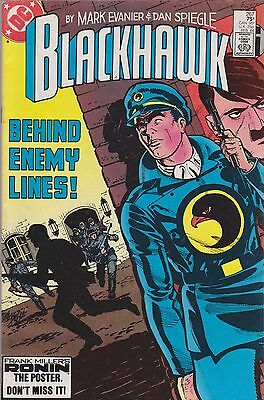 Blackhawk #267 Dc 1984 Behind Enemy Lines. Nazis Wwii