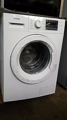 SWAN SW4010W 8kg load, 1400 spin Washing Machine, White