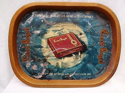 Old Court Royal The Best Cigarettes Advertising Vintage Tin Tray Rare Genuine