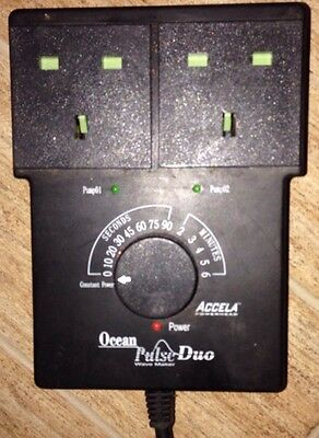 Ocean Pulse Duo Twin Wave Maker Controller For Marine Tropical Fish Tank