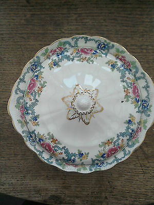 Booths Floradora Vegetable dish and lid . Majestic Collection. Royal Doulton.