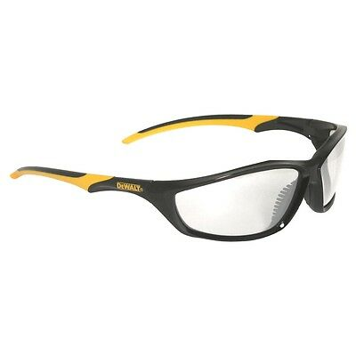 DEWALT Router Safety Glasses Clear Lens with Black / Yellow Frame