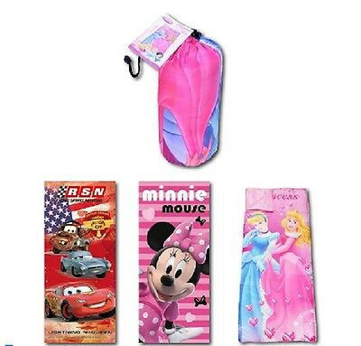 Disney Schlafsack * 150 x 65 cm *  Cars * Disney Princess * Minnie Maus