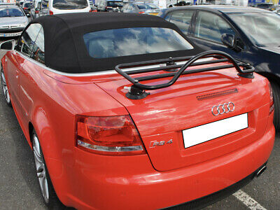Audi A4 Cabriolet  Luggage  Rack ; No Clamps & No Brackets = No Damage