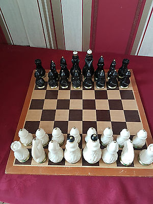 Chess set Weighted pieces stylish