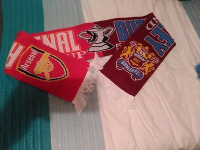 Arsenal Vs Burnley Football Scarf