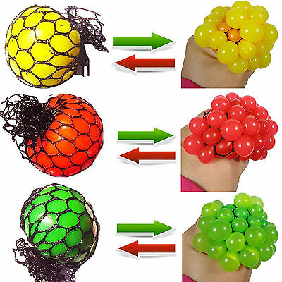 Best Funny Anti Stress Face Reliever Grape Ball Autism Mood Squeeze Relief Toy