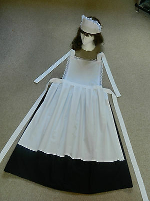 Girls Victorian Maids Outfit/costume/fancy Dress, Murder Mystery Maid,