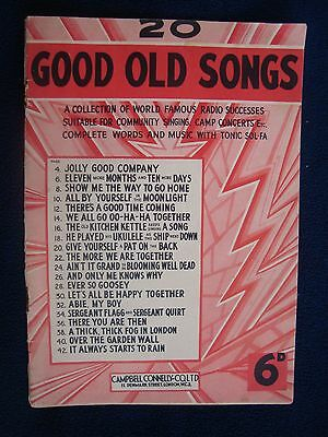 20 Good Old Songs