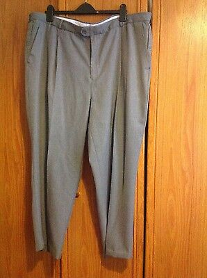 Mens Grey Bowling Trousers