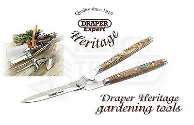 Draper 36559 Heritage Range 170mm Garden Shears With Straight Edges/Ash Handles