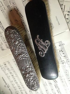 Antique/Vintage Men's Brushes with a Monogrammed M and AB?