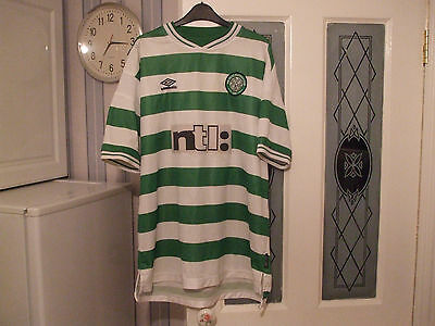 celtic football shirt by umbro