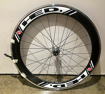 NEW! HED Jet 6 FR Rear Road Wheel, 10-speed SHIMANO/SRAM, 700c, Clincher