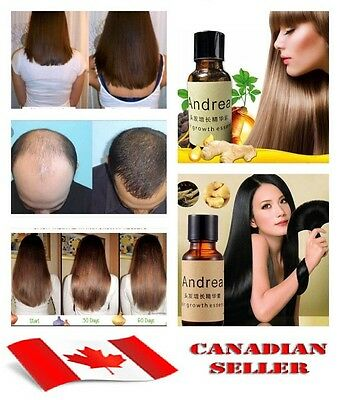 Andrea Hair Growth Essence Hair Loss Treatments ginger genseng raise dense 20 ml