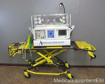 Airborne Life Support Systems MX-Pro Incubator Stryker Rugged Stretcher