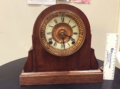 Antique Mantle Clock - Not Working (Collection Only)
