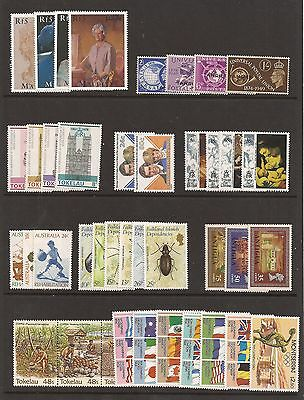 British Commonwealth - nice selection of 10 unmounted mint sets