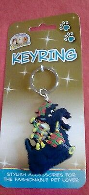 Scottish Terrier Keyring