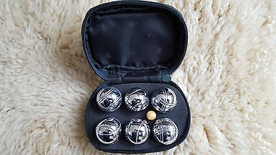 Boules 6 Vintage Beautifully Made with Jack
