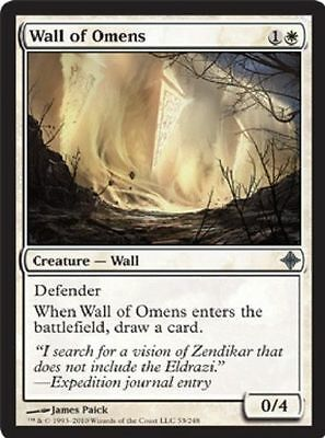 Magic the Gathering MTG - Wall of Omens ROE NM x 3